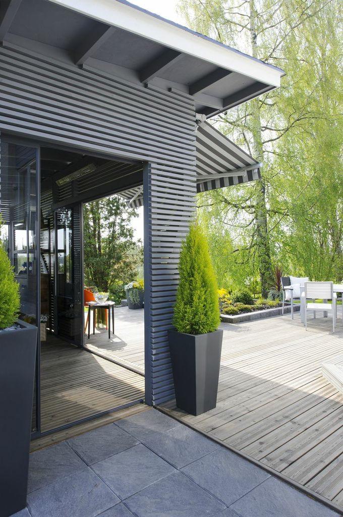 Elämää puutarhassa: Terassialue + pergolakatos - Puutarhasuunnittelu Puksipuu