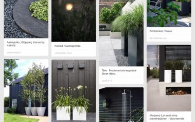 Moderni tanskalais-skandinaavinen puutarha