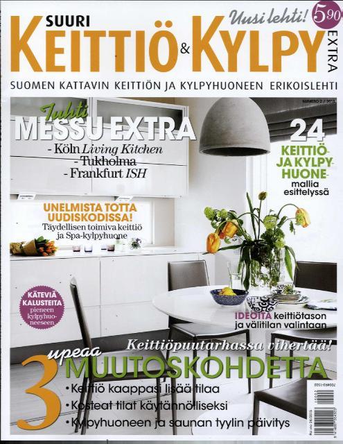 Suuri Keittiö ja kylpyhuone Extra 2:2015